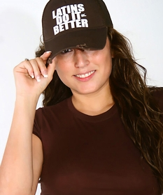 Latins Do It Better Girls Trucker Hat