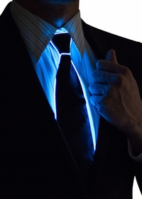 LED Light Up Neck Ties - Novelty Neck Ties for Men