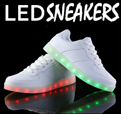 Light-up LED Rechargeable Sneakers