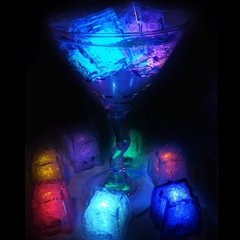 Light Up Party Reusable Ice Cubes