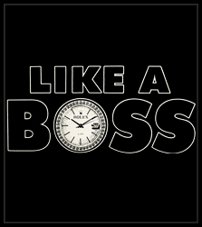 Like A Boss Men's T-Shirt