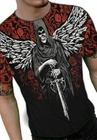 "Liquid Blue ""Winged Reaper"" T-Shirt"