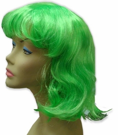 Long Green Wig - Long Green Costume Wig