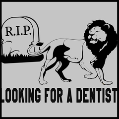 Looking for a Dentist Mens T-shirt