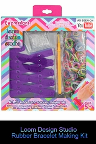 Loom Design Studio Rubber Bracelet Making Kit