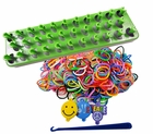 Loom Gift Set With 25 Clips, Hook And 600 Rubber Bands