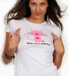 Love Your Pus*y Girls Tee
