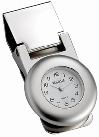 Luxury Time Piece Money Clip with Clock