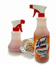 Lysol Antibacterial Kitchen Cleaner Spray Diversion Safe (Working Spray Bottle)
