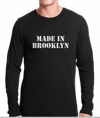 Made In Brooklyn Thermal Shirt<!-- Click to Enlarge-->