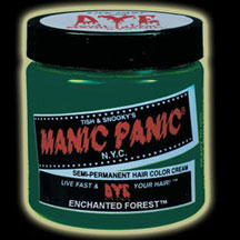 Manic Panic Hair Dye -  Enchanted Forest Hair Color