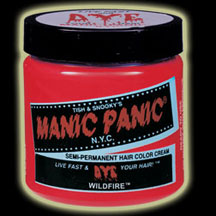 Manic Panic Hair Dye - Wild Fire Hair Color