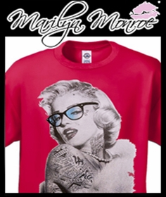 Marilyn Monroe T-shirts Hoodies & Accessories