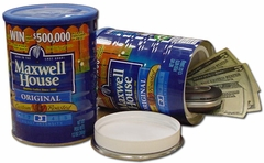 Maxwell House Coffee Can Safe