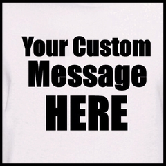 Personalized Custom T-shirts - Mens Custom Saying T-Shirt (Natural)
