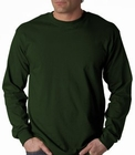 Mens Premium Long Sleeve T-Shirt (Forest Green)
