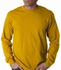 Mens Premium Long Sleeve T-Shirt (Gold)