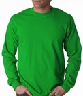 Mens Premium Long Sleeve T-Shirt (Irish Kelly Green)