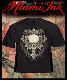 Miami Ink  Tattoo and LA Ink Tee Shirts ::  Miami ink clothing