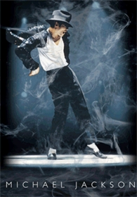 Michael Jackson Posters - Michael Jackson 3D Holographic Animated Poster