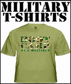 Military & Camouflage T-Shirt
