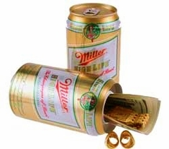 Miller High Life Beer Diversion Can Safe