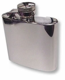 Mini 2 1/2 Oz. Steel Pocket Flask