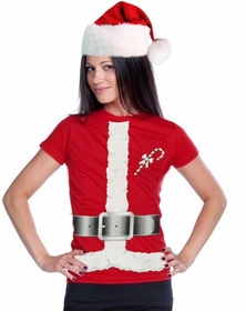 Miss Claus Christmas Costume T-Shirt