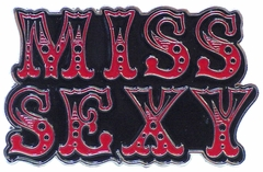 Miss Sexy Belt Buckle With FREE Belt