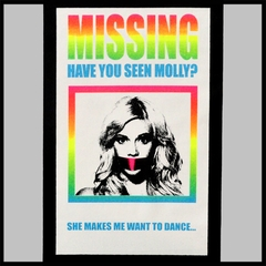 MISSING - Have You Seen Molly? Men's T-Shirt