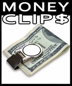 Money Clips, Keychains & More