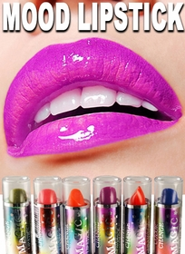 Mood Color Changing Lipstick (Set of 6)