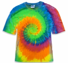 Moon Dance Spiral Tie Dye T-Shirt