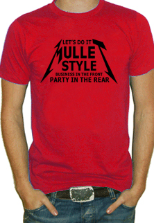 Mullet Style T Shirt
