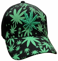 Multi Pot Leaf Baseball Hat