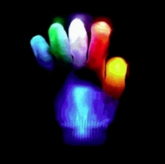Multicolor LED Light Show Glove (Single Hand)