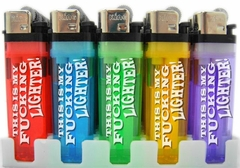 My F*cking Lighter! (Box of 50) Only $.70 Each!