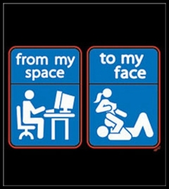 My Space To My Face T-Shirt