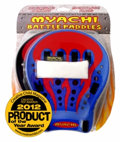Myachi Battle Paddles Set - Includes 2 Paddles and 1 Myachi