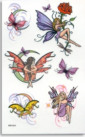 Mystic Fairies 1  Temporary FakeTattoo
