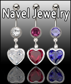 Body Jewelry - Navel Body Jewelry - Belly Button Rings