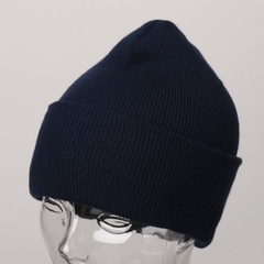 Navy Blue Winter Beanie