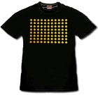 New Raving Smileys T-Shirt With Ultra Sound Sensor