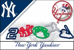 New York Yankees Logo Bandz (20 Pack)