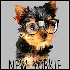New Yorkie Funny Mens T-shirt