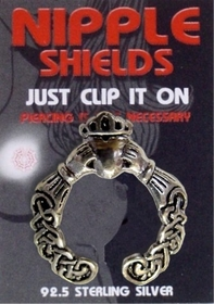 Nipple Shields (Irish Claddagh)