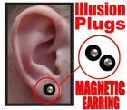 Non-Piercing Magnetic Ear Plug (Assorted)