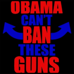 Obama Can't Ban These Guns Men's T-Shirt