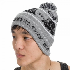 Official Darth Vader Starwars Fair Isle Pom Beanie