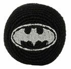 Official DC Comics Batman Hacky Sack (Black/Silver)